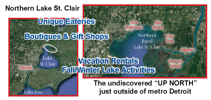 Northern Lake St. Clair Cities